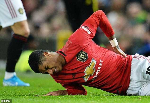 OMG! Man Utd Star Marcus Rashford Ruled Out For Three Months Due To Injury, Solksjaer Provides New Update!