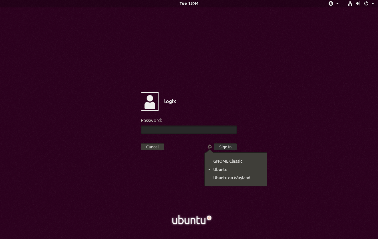 Fix Can't Login After Logout With Gnome / GDM3 On Ubuntu - Linux