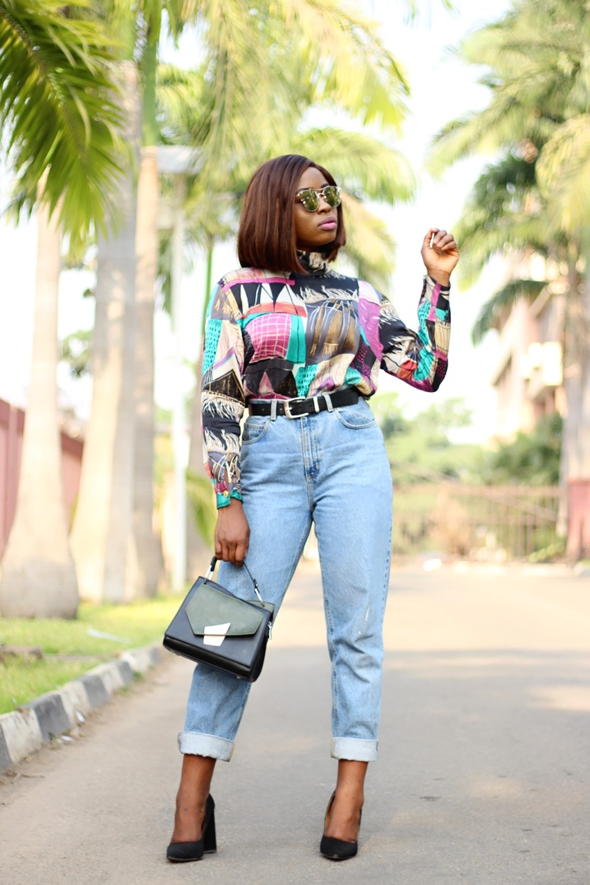 Image result for nigerian woman wearing mom jeans