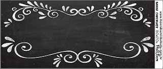 Blackboard Style Free Printable Candy Bar Labels.