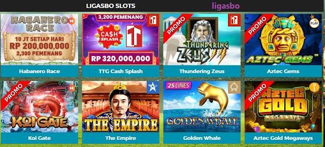 Situs Judi Permainan Slot dengan Pilihan Games Terseru: Ligasbo