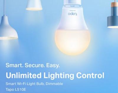 spesifikasi Tapo L510E Smart Wi-Fi Light Bulb