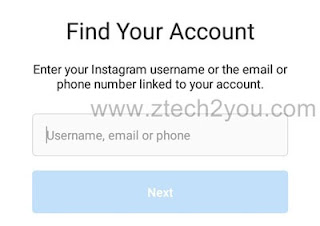 recover-instagram-account-Reset-Password-by-email
