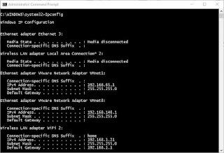 ipconfig-command