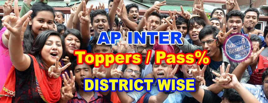 AP Inter Toppers List 2020