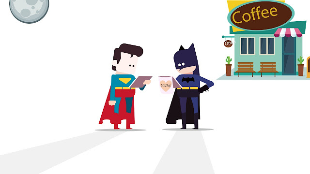 Superman and Batman Character Design