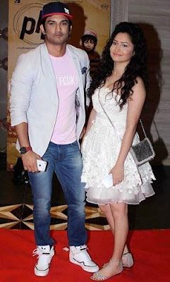 Ankita Lokhande with Shushant Singh Rajput