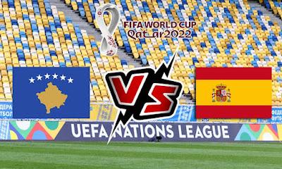 كوسوفو و اسبانيا بث مباشر