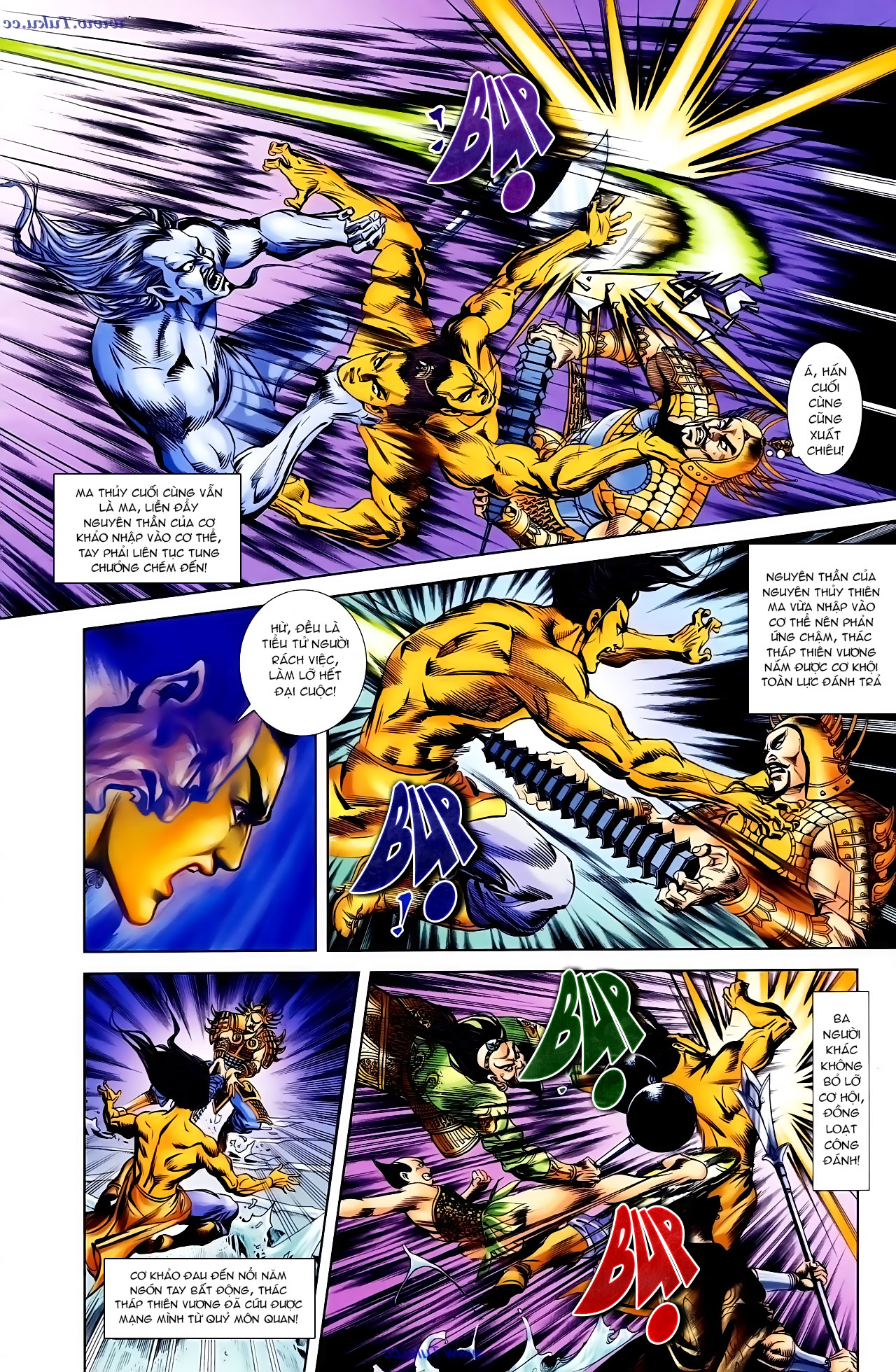 Cơ Phát Khai Chu Bản chapter 103 trang 27