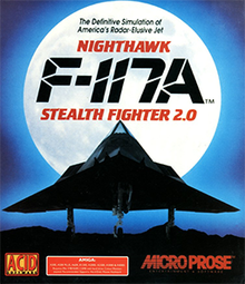 F-117A NIGHTHAWK STEALTH FIGTER 2.0 1991: Official Game Direct Free Download