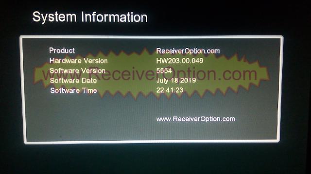 ALL GX6605S HARDWARE VERSION HW203 TEN SPORTS & CCCAM OK NEW UPDATE