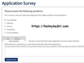 cuma isi survey