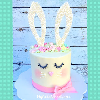 Decorating an Easter bunny cake is another awesome Easter family tradition.