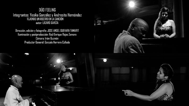 Dúo Feeling - ¨Tejiendo un rostro en la canción¨ - Videoclip - Director: José Ángel Guevara Tamarit. Portal Del Vídeo Clip Cubano