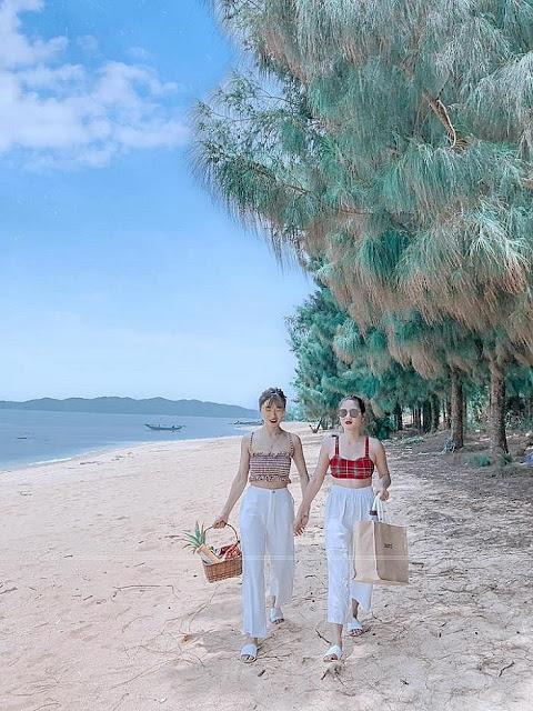 Đảo Cái Chiên Quảng Ninh đẹp bình yên qua ảnh check-in của giới trẻ 17