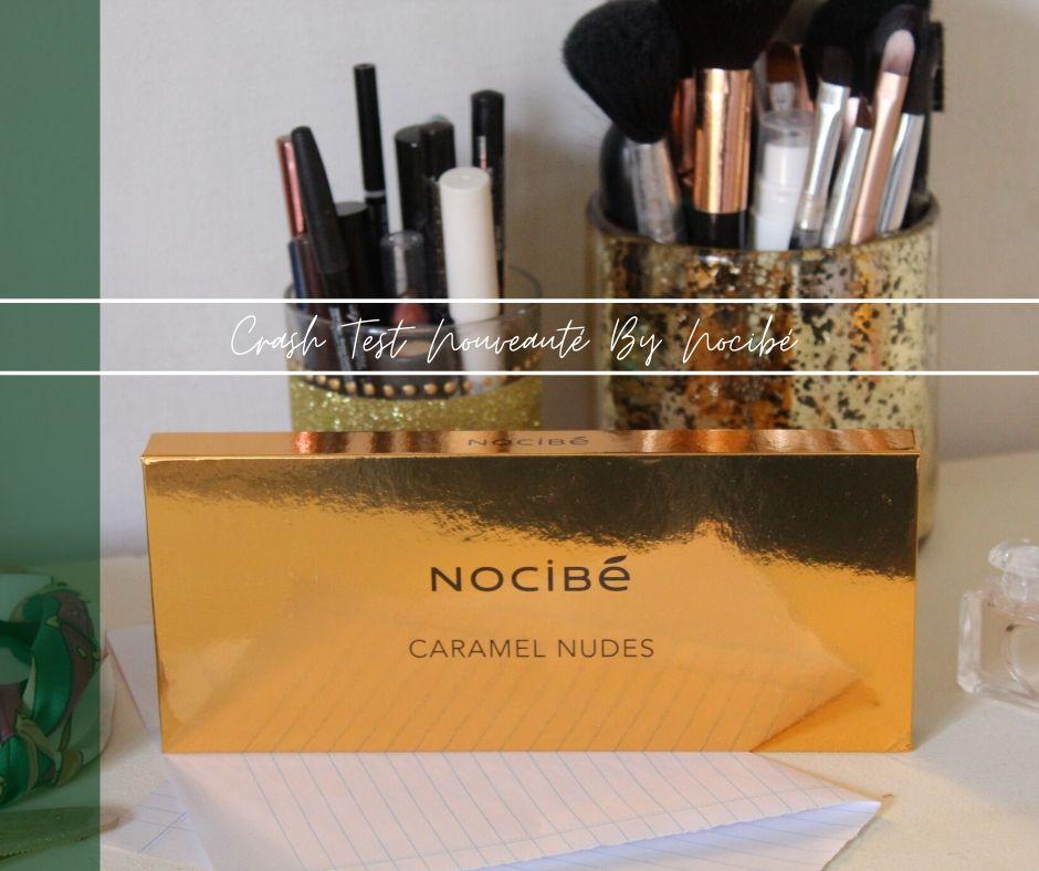 Palette Caramel Nudes et pinceaux maquillage