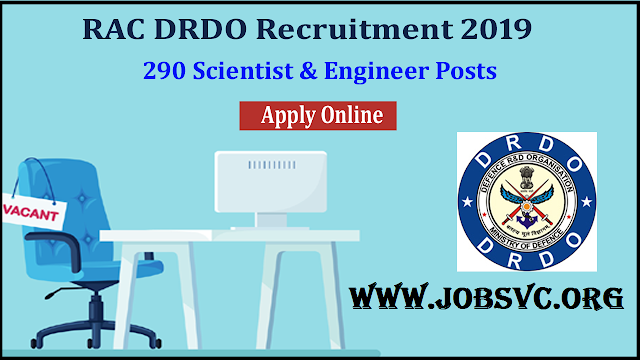 RAC Recruitment (2019) - 258 Posts of Scientist