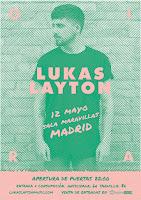 Concierto de Lukas Layton en Maravillas Club