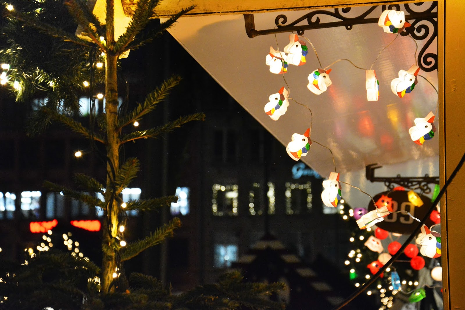 Decorations Found Around the Christmas Market Cologne