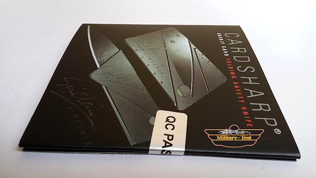 cutit card bancar EDC briceag Sinclair
