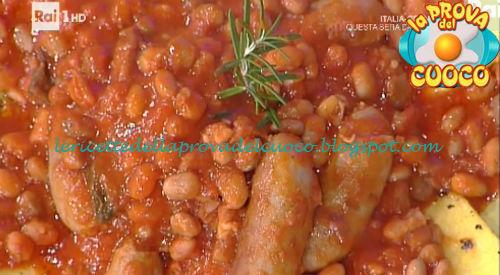 Salsiccia e fagioli ricetta Moroni da Prova del Cuoco