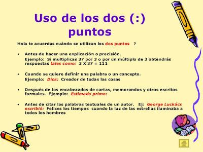 Resultado de imagen de LOS DOS PUNTOS