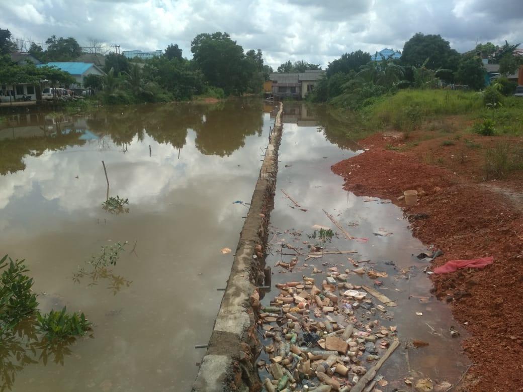 Alur Sungai Ditimbun, Komisi III DPRD Kota Tanjungpinang  Sidak ke Lokasi