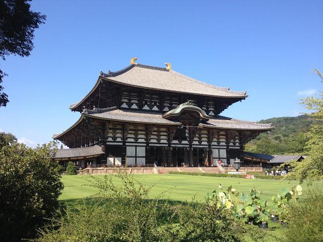 lo spettacolare tempio Todaiji