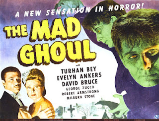 Poster for The Mad Ghoul (1943)
