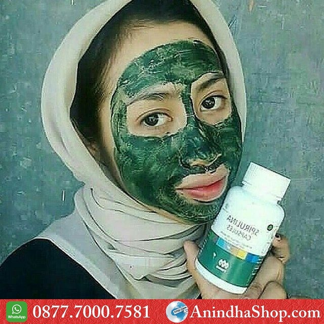 Masker Spirulina Semarang