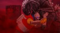 Jet Jaguar vs Godzilla