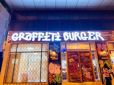 Food Review: Graffiti  Burger at Airport Road, Abu Dhabi UAE