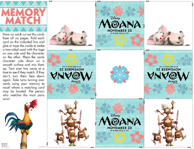 Moana Coloring sheets, Moana memory game, Moana bookmarks, Moana printable, A Pirates Death For Me trailer, Pirates of the Caribbean Trailer, Doctor Strange, #HeroActs