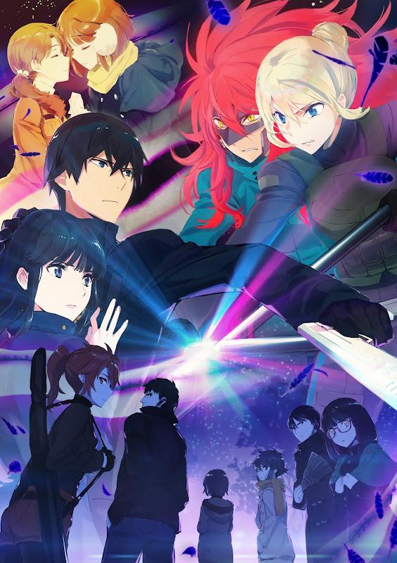 Segunda temporada de Mahouka Koukou no Rettousei, póster.