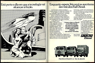 propaganda caminhões Fiat - 1977; Fiat diesel; trucks; brazilian cars; reclame de carros anos 70. brazilian advertising cars in the 70. os anos 70. história da década de 70; Brazil in the 70s; propaganda carros anos 70; Oswaldo Hernandez;