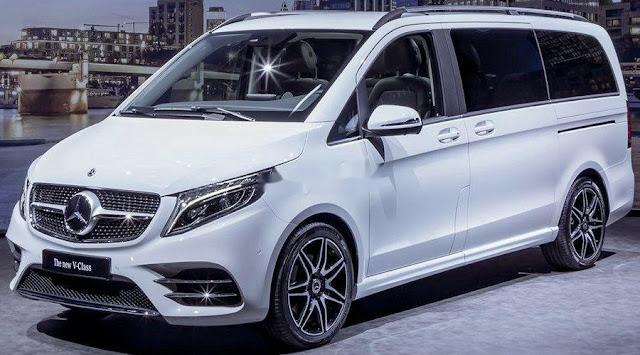Đánh giá Mercedes V250 AMG 2020