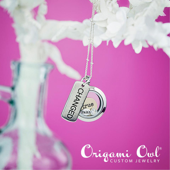 Changed + Faith + True Origami Owl Living Locket from StoriedCharms.com