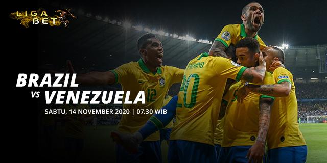 PREDIKSI PARLAY BRAZIL VS VENEZUELA SABTU 14 NOVEMBER 2020