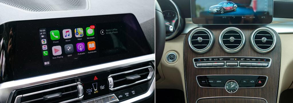 Dưới 2 tỷ, chọn Mercedes-Benz C 200 Exclusive hay BMW 320i Sport Line?