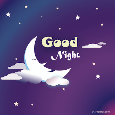 Cute funny goodnight picture message