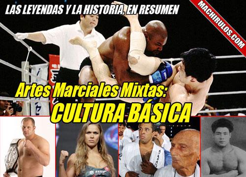 Leyendas de las artes marciales mixtas.