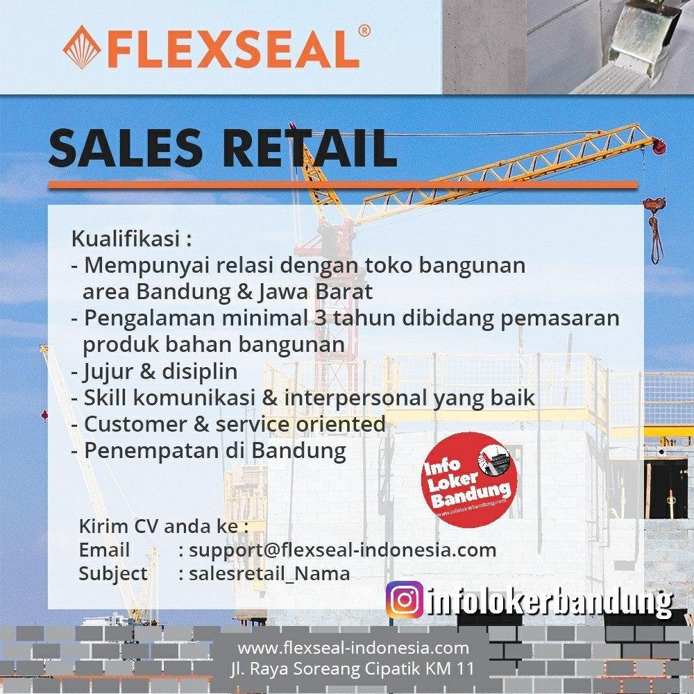 Lowongan Kerja PT Suryatatas Persada Teknik ( Flexseal ) Bandung Maret 2020