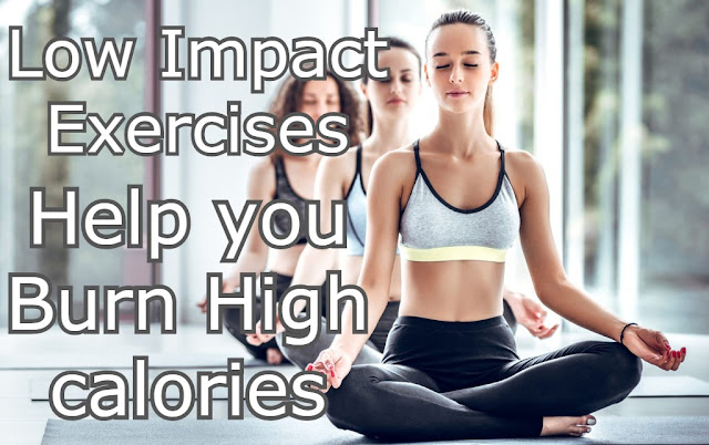 low impact exercies for burn major calories