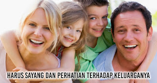 Calon Istri idaman Laki-Laki harus Sayang dan Perhatian Terhadap Keluarganya