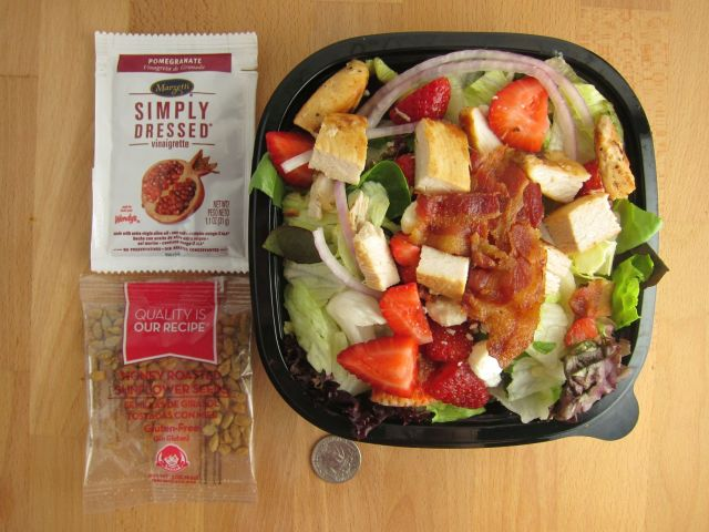 Wendys Menu Salads Review: Wendy's - Stra...