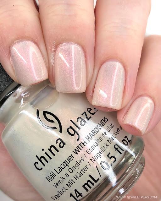 China Glaze SAUVIGNON & ON 25 Sweetpeas