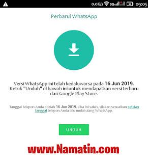 Cara Benerin Whatsapp Timbul Minta Atur Waktu