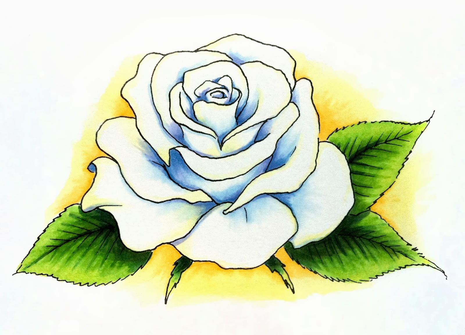 It's just a graphic of Intrepid Rose Petal Drawing