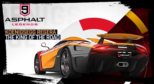 تحميل لعبة سباق السيارات الخرافية Asphalt 9: Legend لجميع الاجهزة
