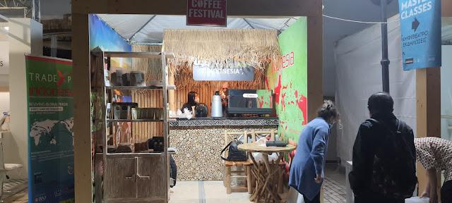 Indonesia Athens Coffee Festival